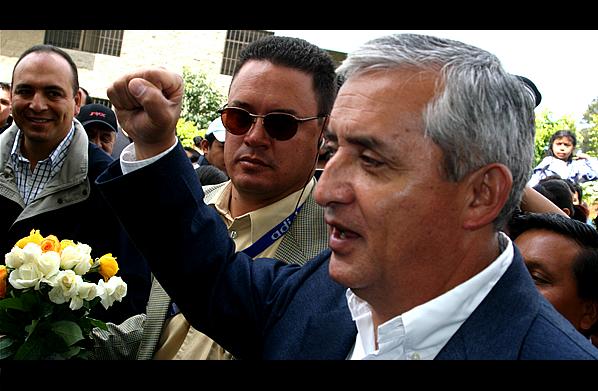 Otto Pérez Molina gana la presidencia de Guatemala con 54,27% de votos