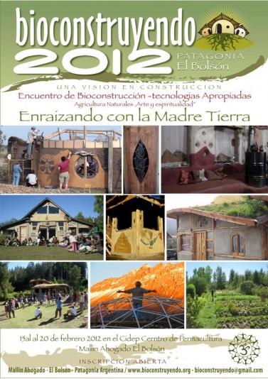 Del 15 al 20 de febrero: Tercer Encuentro Internacional Bioconstruyendo 2012