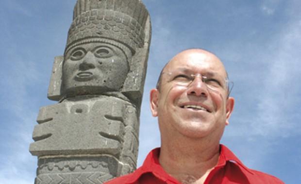 """Fernando Malkún, experto en cultura maya: """"La mujer es quien tendrá el poder de crear la nueva era, por su mayor sensibilidad"""""""