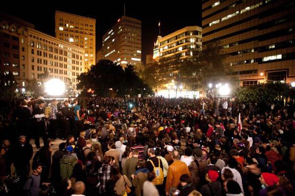 Movimiento Occupy de Estados Unidos sigue vivo
