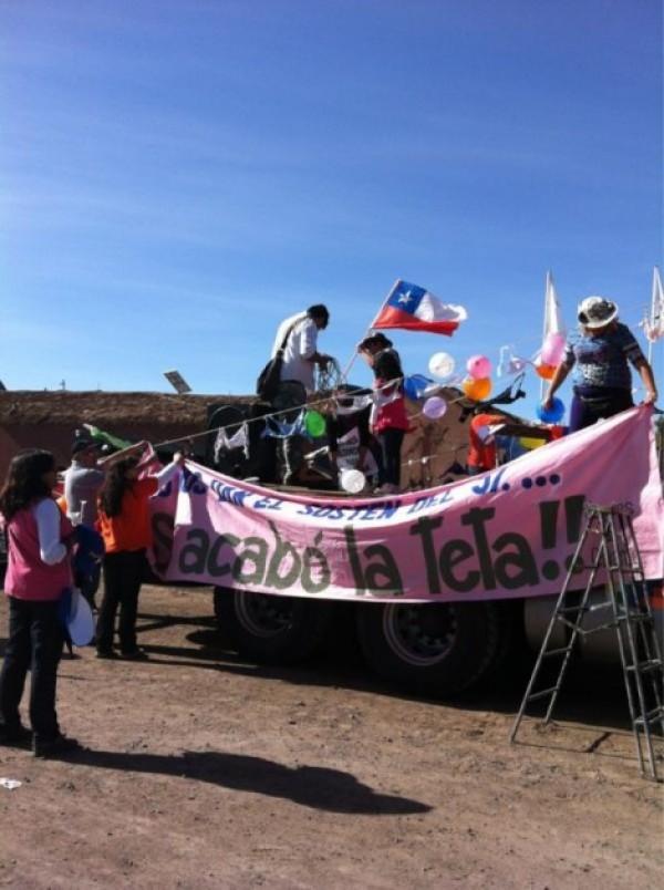 Calama en la calle: Miles de loínos exigen que parte de las riquezas de la minería queden en la región