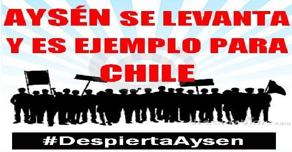 Representantes de Aysén se trasladan a Santiago para solicitar el fin de querellas por Ley de Seguridad del Estado en La Moneda