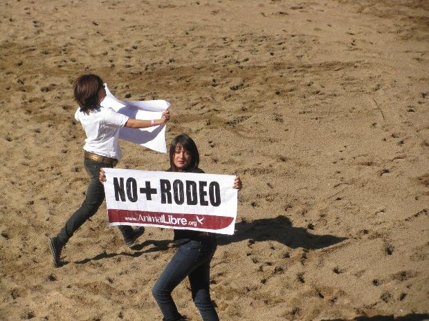 Saltan a la Medialuna de Rancagua en protesta por el rodeo