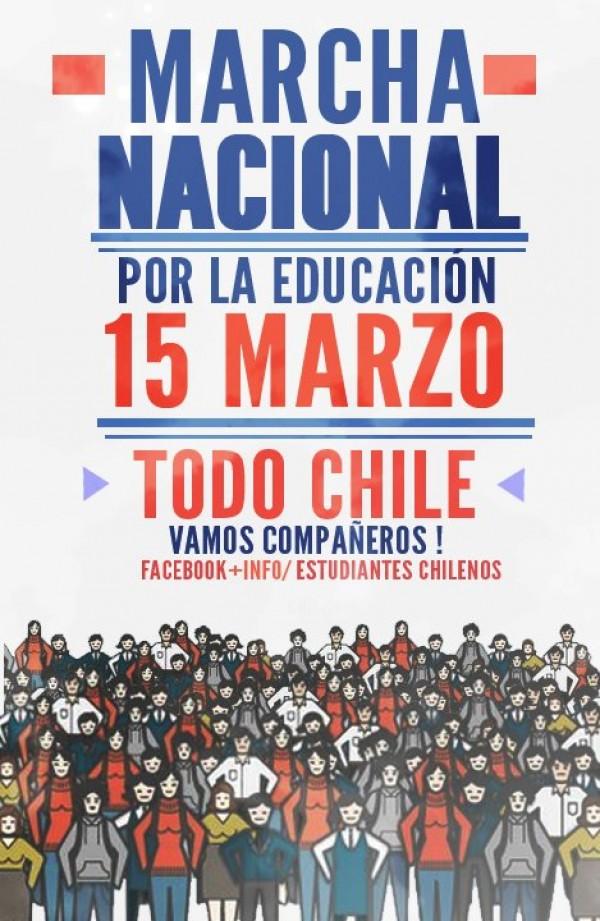 De vuelta a clases: Este jueves estudiantes convocan a marchar en diferentes ciudades de Chile