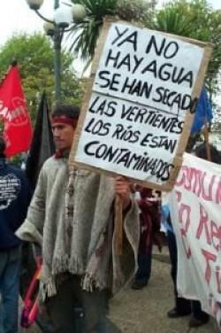 Desde la Cosmovisión Mapuche: El Agua del Mapu está en grave peligro