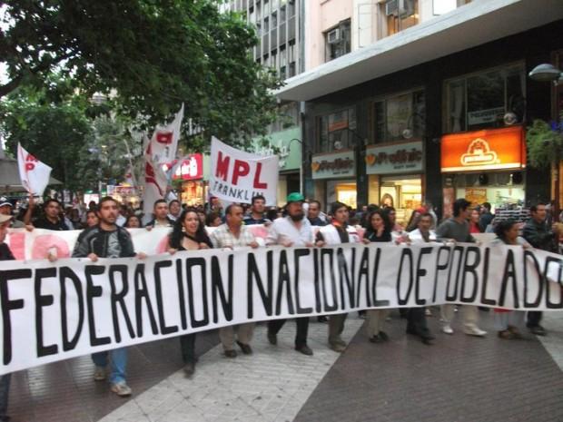 """""""¡Vecinos, lo hemos logrado!"""". La Federación Nacional de Pobladores logra congelamiento de puntajes de la Ficha de Protección Social"""