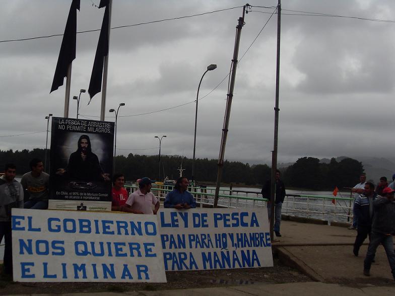 Pescadores Artesanales de la Araucanía anuncian movilizaciones para que se retire proyecto de ley de pesca del Parlamento