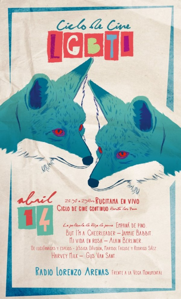 Hoy primera maratón nocturna de cine por la diversidad sexual en Concepción