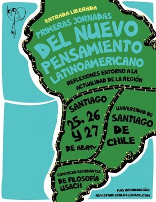 Primeras jornadas del Nuevo Pensamiento Latinoamericano