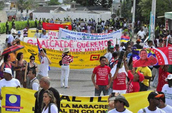 V Cumbre de los Pueblos: Exigen integración de Cuba y declaran persona non grata a Obama