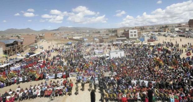 Continúan conflictos entre indígenas bolivianos por el Tipnis
