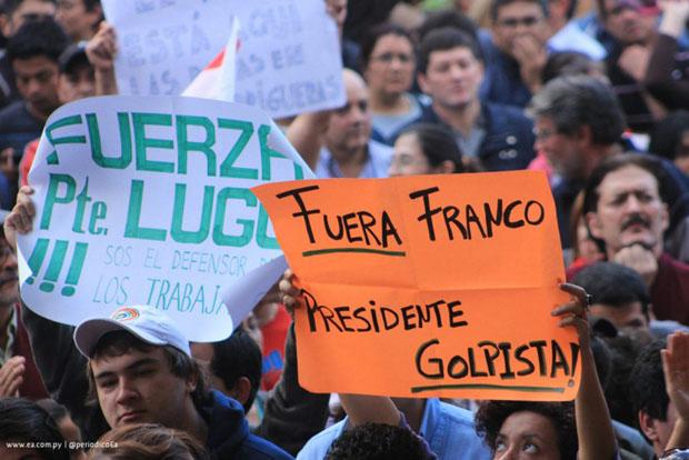 Paraguay: El aislamiento internacional de Franco a tres meses del Golpe Parlamentario
