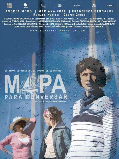 Película «Mapa para conversar» que aborda la homosexualidad femenina se estrena el 14 de junio en cines