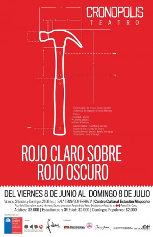 Teatro para el invierno: Rojo Claro Sobre Rojo Oscuro