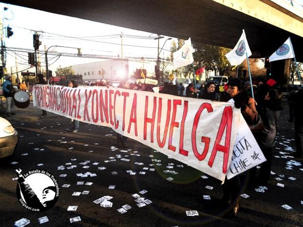 Comunicado de trabajadores de 'Konecta Chile'