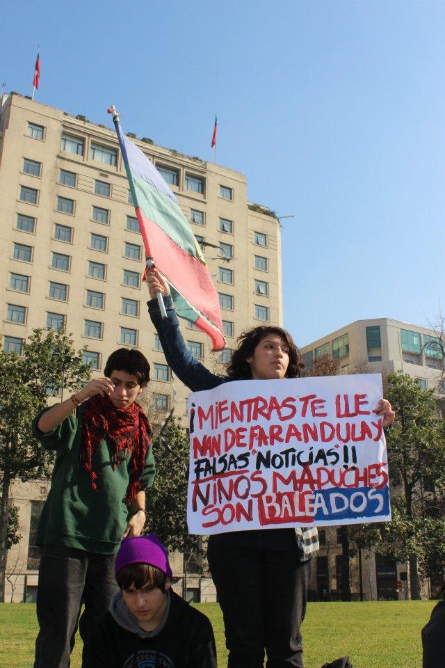Pueblo Mapuche endurece sus acciones y reclama abusos en contra de su niñez