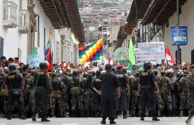 La represión en Celendín y el Movimiento AntiConga