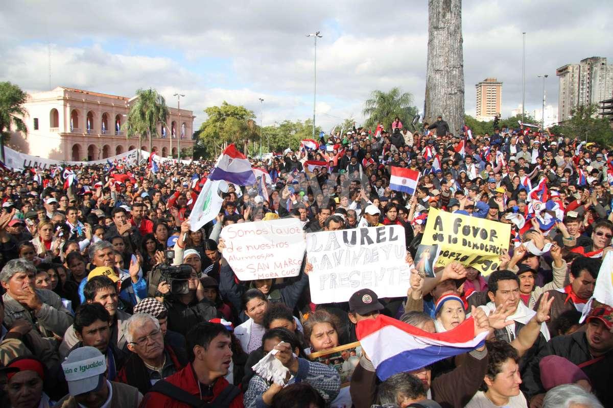 Pastoral Social de Paraguay se manifiesta contra el golpe de Estado y refuerza papel de la Iglesia en el auxilio a campesinos