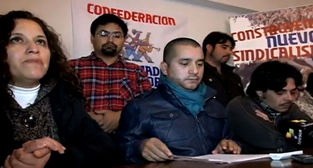 [VIDEO] Trabajadores del cobre dieron ultimátum a la CUT ante irregularidades en padrones electorales
