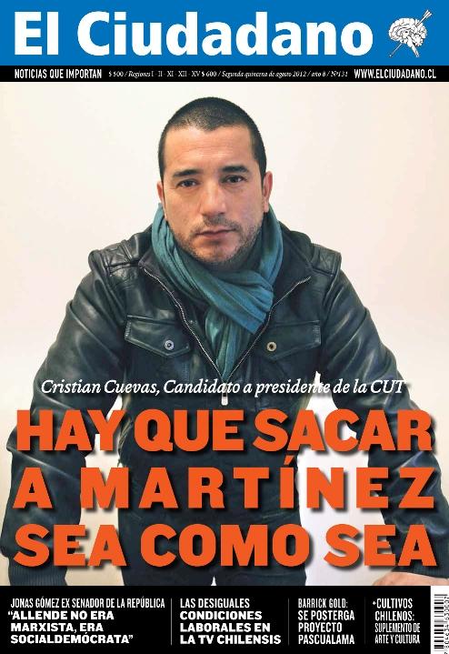 El Ciudadano Nº 131 ya está en las calles de Chile