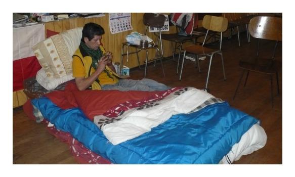 Pescador artesanal José Asencio depuso su huelga de hambre luego de dos semanas