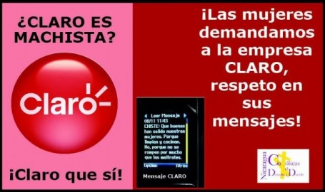 Publicidad machista de la empresa Claro desata polémica en Nicaragua
