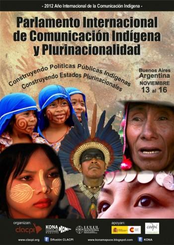 Parlamento Internacional de Comunicación Indígena y Plurinacionalidad se realizará en Argentina