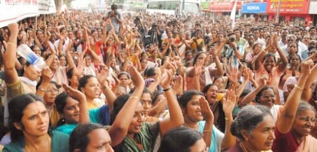 Mujeres de India alzan su voz contra violencia de género