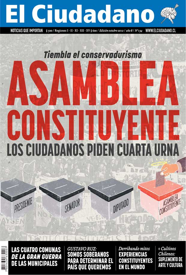 ¡Asamblea Constituyente: Ahora es cuando! Ya está en las calles la nueva edición de El Ciudadano