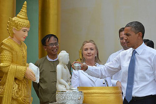 Visita a Myanmar: Obama el pivote