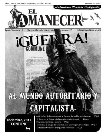 En Chillán apareció el Nº15 del periódico El Amanecer