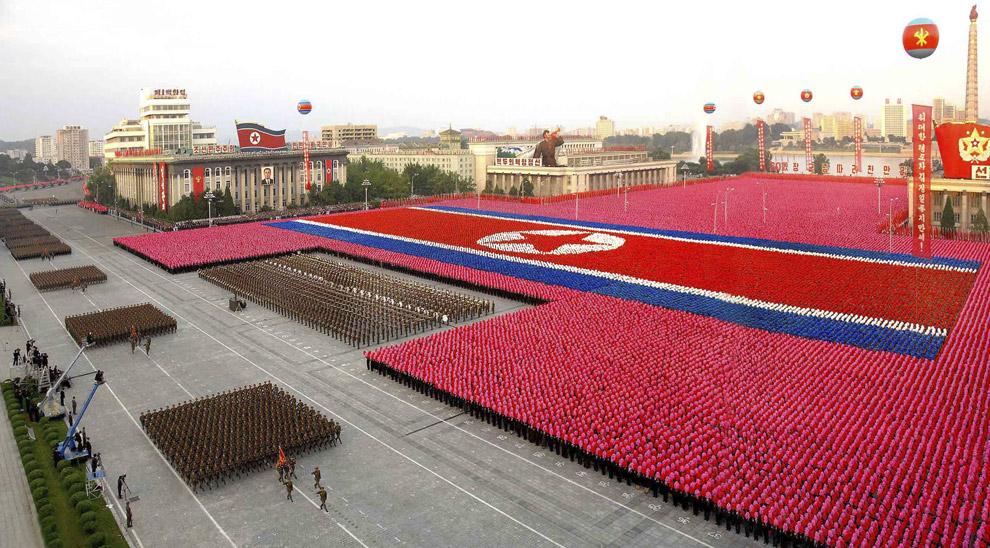 Corea del Norte tensionado por EE.UU.