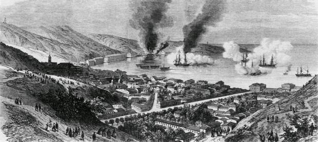 31 de marzo, 1866: 147 años del bombardeo a Valparaíso