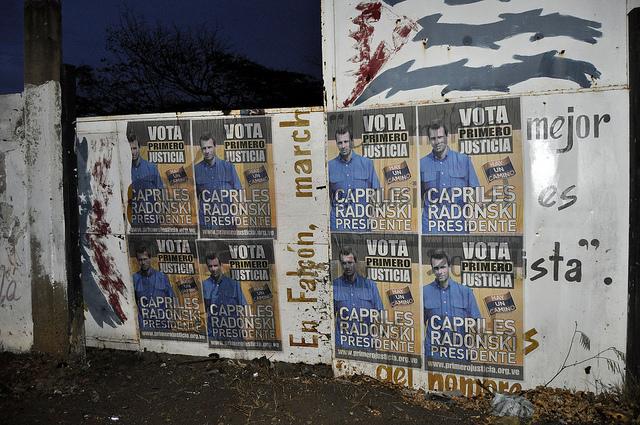 Gobierno venezolano informó sobre amenazas contra la vida de Capriles Radonski