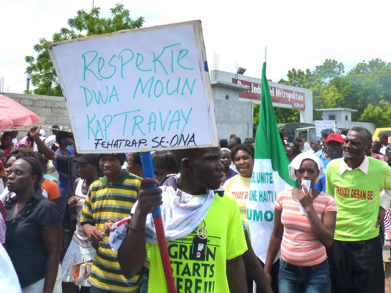 Haití: un país maquila que no tiene qué comer