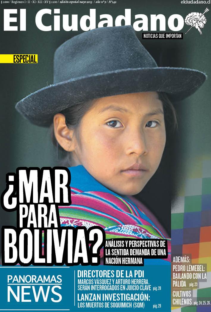 """""""¿Mar para Bolivia?"""": La nueva edición de El Ciudadano ya está kioscos"""