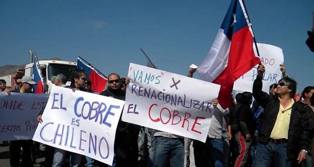 Contratistas del cobre ratifican este viernes el llamado a huelga