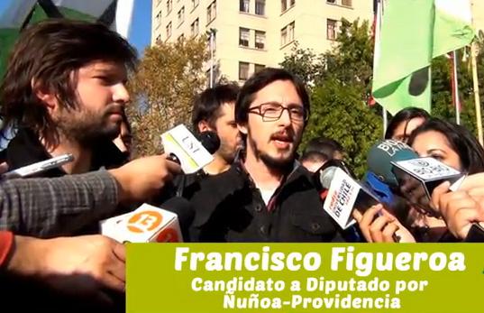 [VIDEO] Dirigentes estudiantiles lanzaron candidaturas a diputados