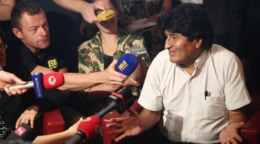 OEA condena actitud de naciones que cerraron espacio aéreo a Evo Morales
