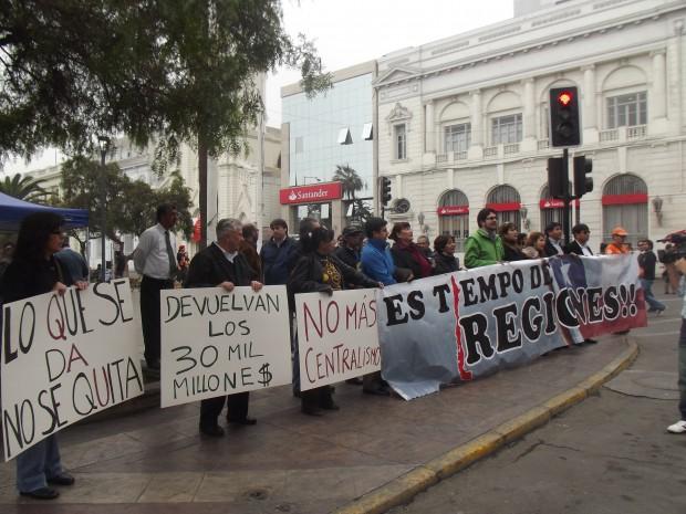 """Tocopilla y Calama movilizados por deuda del Gobierno con la región: """"No queremos un trato especial sino un trato justo"""""""