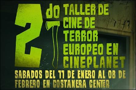 Segundo Taller de Cine de Terror Europeo