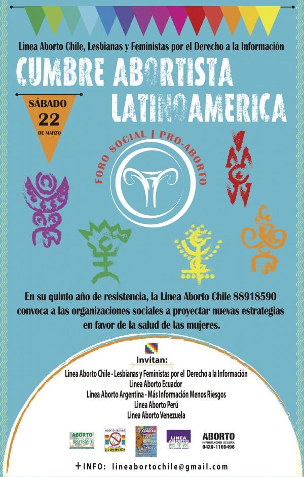 Este sábado Primera Cumbre Abortista Latinoamericana y Foro Social Pro Aborto en Concepción