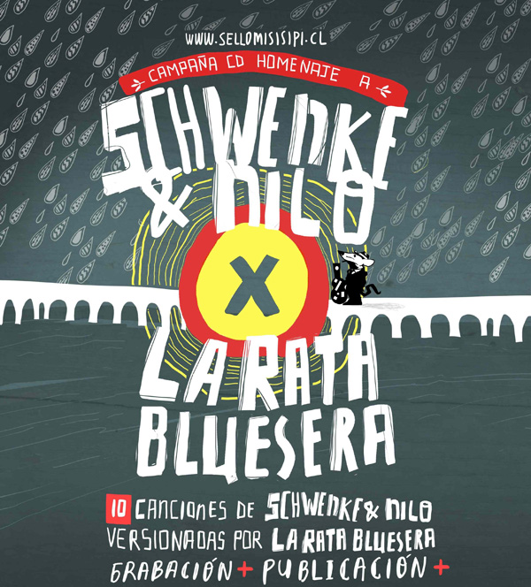 La Rata Bluesera inicia gira para costear CD en homenaje a Schwenke y Nilo