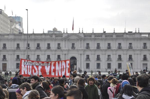 El movimiento estudiantil y el Gobierno de Bachelet