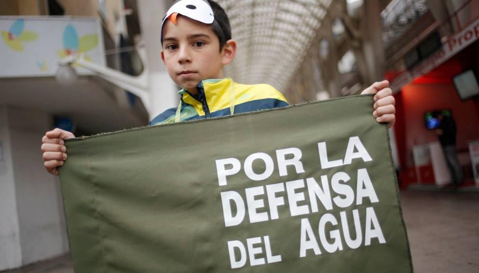 Chilenos marcharon contra privatización del agua