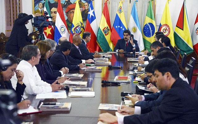 Unasur retoma su participación en Conferencia de Paz en Venezuela