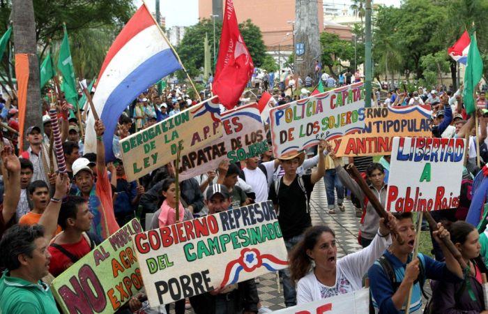 La huelga general que sacudió a Paraguay