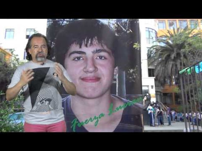La historia de Luciano y la lucha de su padre por la justicia en Chile