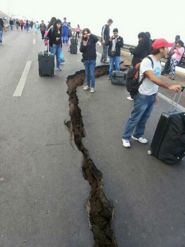 Terremoto sacudió el norte de Chile