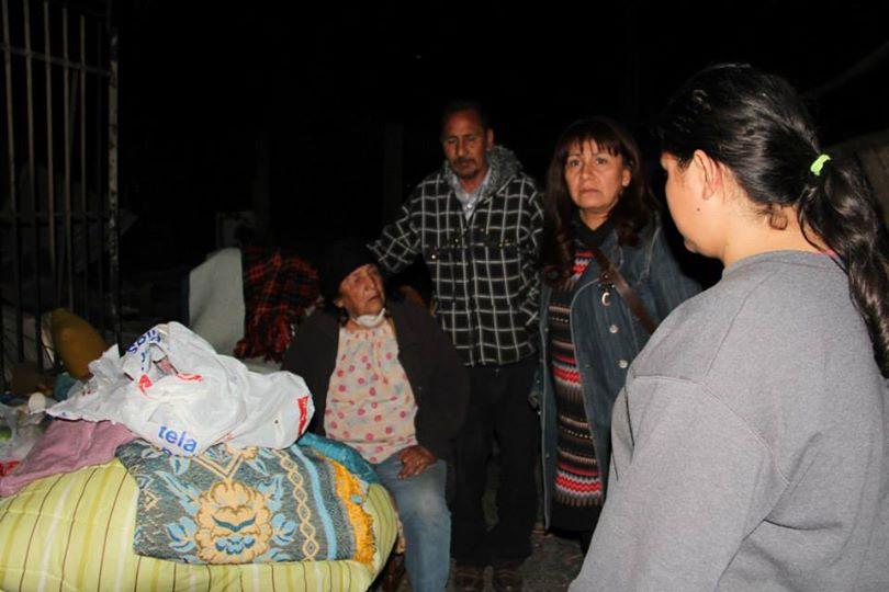 Roxana Miranda: «Aún hay gente en los cerros a las que el Estado no ha prestado ayuda»